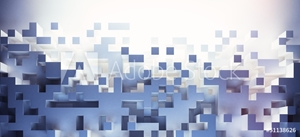 Picture of abstract cubes background - hq lights