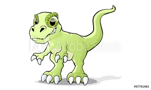Picture of cheeky Tyrannosaur dinosaur