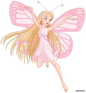 Picture of Beautiful flying fairy