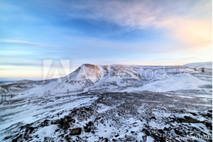 Picture of Arctic mountain landscape.