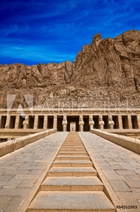 Picture of  temple of Hatshepsut near Luxor in Egypt