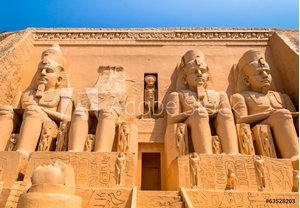 Picture of abu simbel egypt