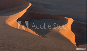 Picture of Aerial view of Large Sand Dune in Namibia