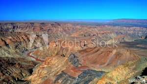 Picture of Fish river Canyon, south Namibia