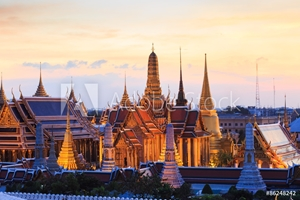 Picture of Bangkok City Pillars Shrine and Wat Phra Kaew