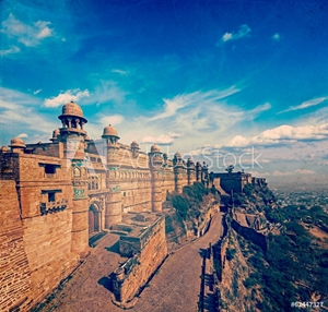 Picture of Gwalior fort