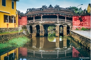 Picture of Chinese bridge in Hoi An