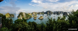 Picture of View of Ha Long Bay from Sim Soi Island, Vietnam
