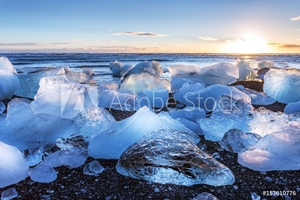 Picture of Diamond Beach Iceland