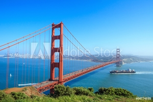 Picture of Golden Gate Bridge in San Francisco