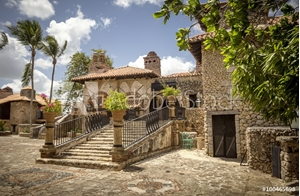 Picture of Altos de Chavon village, La Romana in Dominican Republic