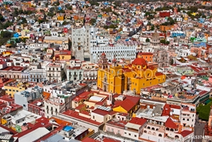 Picture of Colonial architecture at its best Guanajuato Mexico