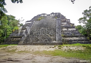 Picture of ancient Mayan city of Copan in Honduras