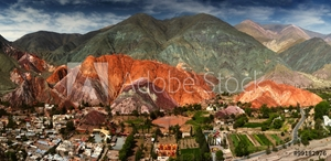 Picture of 7 colors mountain