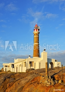 Picture of Uruguay, Rocha Department, View of the lighthouse in Cabo Polonio.