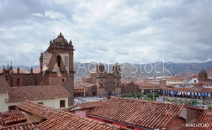 Picture of A view over the Plaza De Armas, Cusco